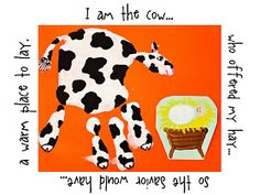 This is the cow who shared her hay