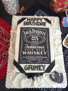 Jack Daniels cake for my husband