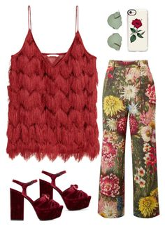 """""""Untitled #10"""" by ekarahayu on Polyvore featuring Yves Saint Laurent, Gucci, Christian Dior and Casetify"""