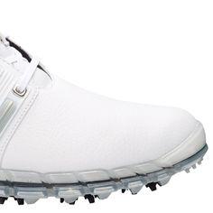 new concept 38113 81c13 Adidas Tour 360 ATV M1 Golf Shoes White Silver White