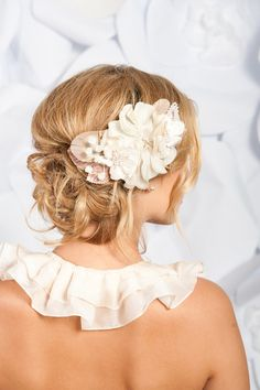 For Laurie: I think this bun is also really pretty, but the hair on the head could use a little more lift/texture.  If I wear a hair piece, it would be much smaller than this