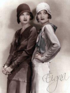 The Bennett Sisters - Constance (1904-1965) Joan (1910-1990)