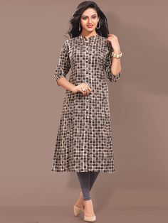 Suave beige casual wear cotton printed kurti. Having fabric cotton. The attractive print work all through the attire is awe inspiring. #mydesiwear #onlineshop #kurtis #cotton #indianfashion #festivewear #ethnicwear #fashion #womenstyle #printedkurtis #womenfashion #partywear #casualwear #weddingfashion #weddingseason #indianwedding #weddingbeauty #weddingfestival #WeddingTrends #stylewedding