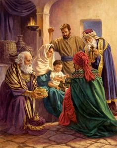 """Corbert Gauthier (American). The Saviour of the world! """"to us a Son is given,"""" Isaiah 9:6"""