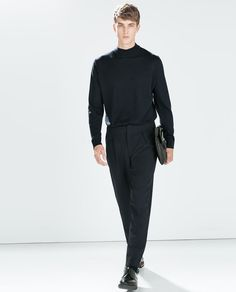 ZARA - HERREN - BUNDFALTENHOSE - i don't know wheter to like it or not! Looks kinda cool!