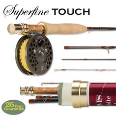 Just found this Trout Fly Rod - UK 30th Anniversary Superfine Touch 865-4 -- Orvis UK on Orvis.com!