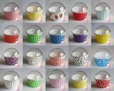 Iced Jems Baking Cups with Lids have arrived and are wonderful as party favours, stalls, gifts and more. Cute plastic clip on lids for you baking cups! Cupcake In A Cup, Cupcake Shops, Cupcake Boxes, Cupcake Display, Cupcake Container, Cupcake Papers, Bake Sale Packaging, Cupcake Packaging, Bakery Packaging