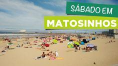 Sábado na Praia de Matosinhos - Porto (Portugal)