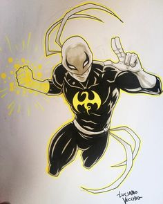 Iron Fist Commission by LucianoVecchio on DeviantArt Marvel Comics, Dc Comics Superheroes, Marvel Comic Universe, Comics Universe, Marvel Art, Marvel Heroes, Iron Fist Marvel, Fanart, Alter Ego