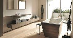 Vasca da bagno con rivestimento in legno. #therapy4home #bagno #wood #design #home