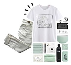 """""""Ultimately- khai dreams"""" by vxrtues ❤ liked on Polyvore featuring DEOS, Chloé, Linum Home Textiles, Marie Turnor, Kate Spade, Simmons, CB2, Old Navy, white and simpleset"""