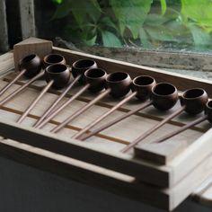 Coffee spoon Walnut Handmade