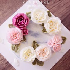 KIM&CAKE signature rose and David Austin Rose If you have no chance or time…