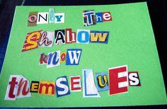 Ransom Quote Postcard