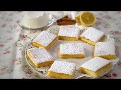 QUADROTTI RICOTTA E LIMONE di Benedetta - Ricetta Facile - YouTube Italian Cookies, Italian Desserts, Italian Recipes, Sweet Light, Baking Recipes, Cake Recipes, Super Torte, Nutella, Kenwood Cooking