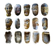 Nepalese masks with protruding teeth Himalayan, Tribal Art, Indiana, Teeth, Folk, Himalayan Cat, Popular, Fork, Folk Music