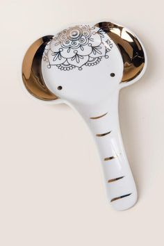 Elephant Spoon Rest-  gift-cl
