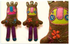 los muñecos de Lorena Alvarez Gomez