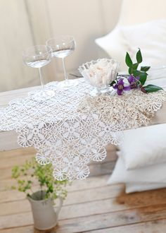 Crochet Table Mat, Crochet Home, Thread Crochet, Knit Or Crochet, Free Crochet, Diy Crochet Doilies, Crochet Placemats, Crochet Dollies, Crochet Baskets