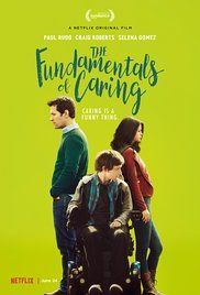Directed by Rob Burnett.  With Selena Gomez, Paul Rudd, Craig Roberts, Jennifer Ehle. A man, whose life came to a halt when he lost his son enrolls in a class about care-giving in an attempt move on. He's hired to take care of Trevor, a young man with Duchenne muscular dystrophy. They go on a roadtrip together, a journey that helps them both move forward.