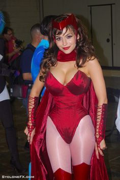 Scarlett Witch achieving super heroic proportions