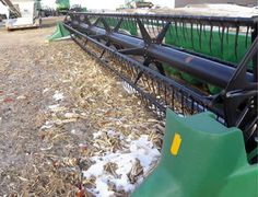 John Deere 930 header salvaged for used parts. This unit is available at All States Ag Parts in Salem, SD. Call 877-530-4010 parts. Unit ID#: EQ-23739. The photo depicts the equipment in the condition it arrived at our salvage yard. Parts shown may or may not still be available. http://www.TractorPartsASAP.com