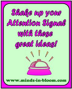 Attention Signal Ideas! - So many creative ideas. Be sure to read the comments for even more ideas!