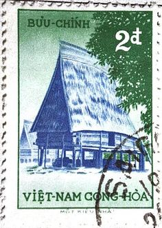 Viet Nam Postage Stamp (Notice that they spell it Viet Nam. All words are one syllable in their language.)
