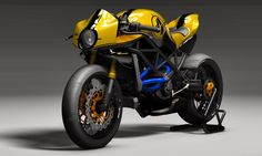Ducati Cafè Racer Bodykit by Paolo Tesio /Texdesign More bikes here. Cafe Racer Style, Custom Cafe Racer, Ducati Monster 1100 Evo, Ducati 749, Ducati Cafe Racer, Cafe Racing, Xjr, Super Bikes, Bike Design