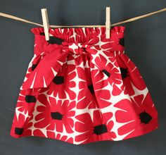 Toddler skirt....i can do this!!