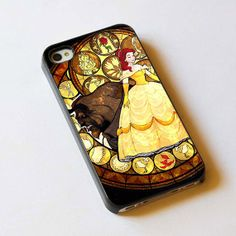 Beauty and the Beast from KH -- this is awesome and those are my initials right there