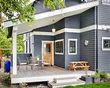 dark gray cedar wood stain houses - Yahoo Image Search Results