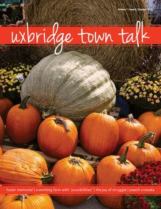 October's Cover Check out our website to read issues of UTT Local Magazine, Reading Online, The Fosters, Pumpkin, Website, Cover, Check, Pumpkins, Squash