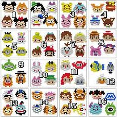 images 320×320 ピクセル Perler Bead Designs, Pearler Bead Patterns, Diy Perler Beads, Perler Bead Art, Perler Patterns, Pearler Beads, Fuse Beads, Disney Diy, Loom Beading