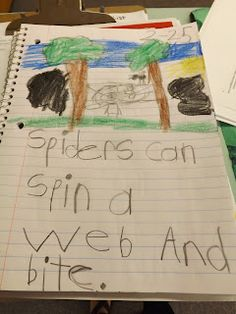 Mrs. Vento's Kindergarten: Very Busy Spiders  lots of ideas