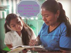 Ecuador Joannan silmin - Ecuador in my eyes: Changing the world, one community at time