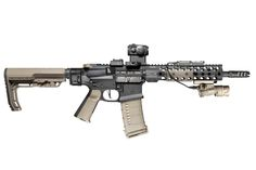 Ar-15 with Centurion CMR rail, Magpul fixed carbine stock ...