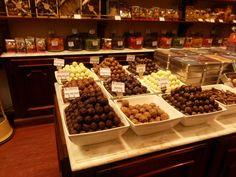 Heaven via a chocolate store in Brussels, Belgium