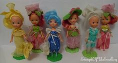 1980's Kenner Rose Petal Place Dolls. I have the Rose one- it smelled great.