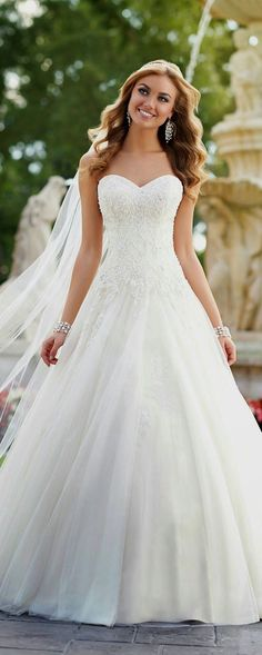 Brides dress. Brides dream about having the perfect wedding day, but for this they need the best bridal dress, with the bridesmaid's dresses complimenting the wedding brides dress. Here are a few tips on wedding dresses. #weddingdress
