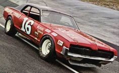 NASCAR Grand-Am.  Bud Moore's 1969 Mercury Cougar, driven by Tiny Lund.
