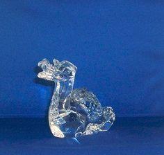 Baccarat Crystal Zodiac Dragon Retired by YesterdayAndTomorrow, $140.00