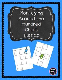 Math Meeting, 120 Chart, Hundreds Chart, Common Core Standards, Teacher Newsletter, Teacher Pay Teachers, Monkey, The 100, Teaching