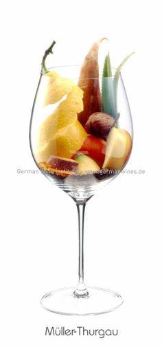 Descrição aromática da variedade: Müller-Thurgau