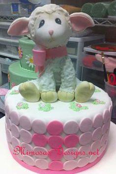 Little Lamb Cake Idea I