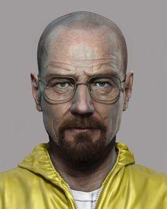 3D Walter White