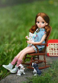 Vintage Licca Doll