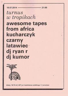 poster / turnus w tropikach on Behance