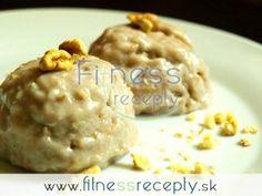 Banánovo-oriešková zmrzlina Baked Potato, Oatmeal, Potatoes, Breakfast, Ethnic Recipes, Fitness, Food, Food Food, The Oatmeal