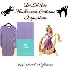 Rapunzel LuLaRoe Costume Inspiration